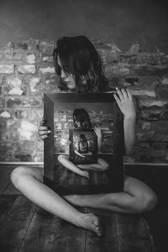 in the mirror erotic photo by photographer sk photo