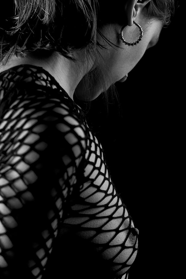 in the net artistic nude photo by photographer hermanodani
