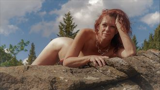 in the sun artistic nude photo by model tigg