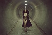 in the tunnel Artistic Nude Photo by Model erin elizabeth