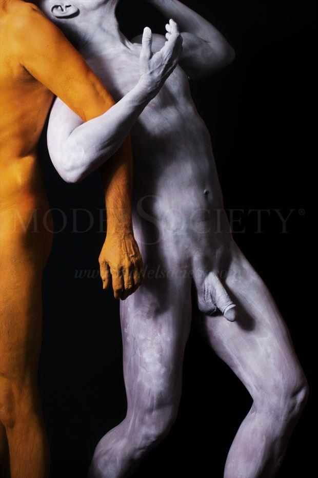 in this together abstract photo by model avid light