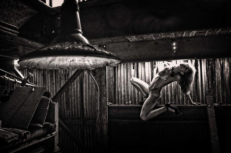 industrial 1 artistic nude photo by photographer kean creative