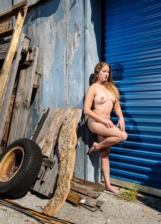 industrial aeris artistic nude photo by photographer colinwardphotography