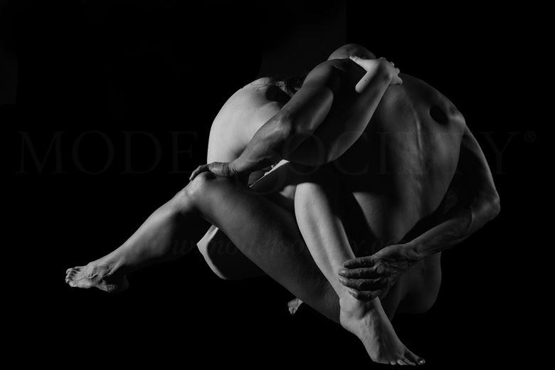 inextricable artistic nude photo by model avid light