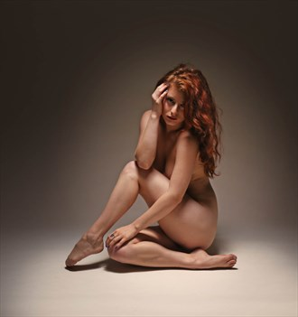 intimate redhead Artistic Nude Photo by Photographer Rusty Hann