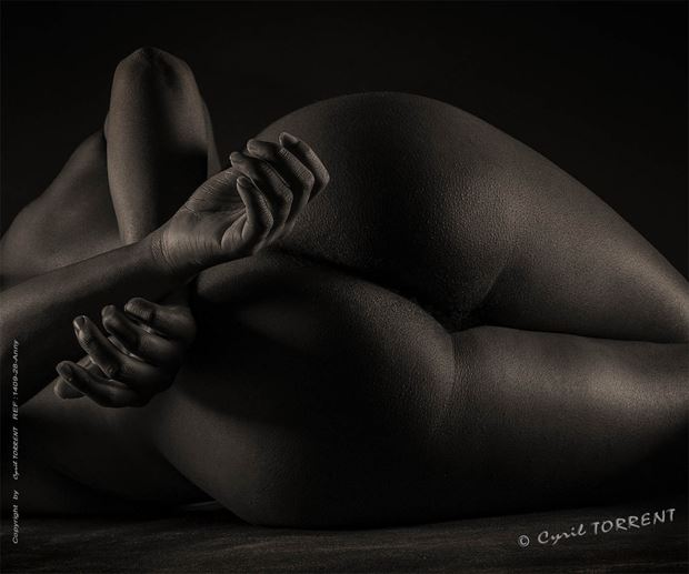 intime artistic nude artwork by photographer cyril torrent