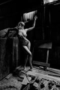 into the light artistic nude photo by photographer philip turner