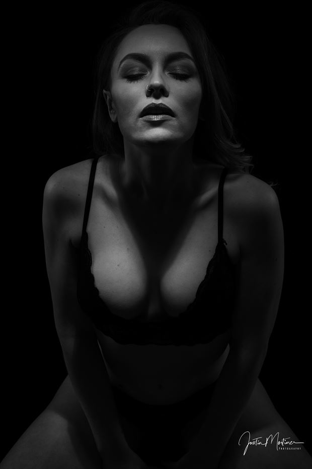 into the light lingerie artwork by photographer justin snikon