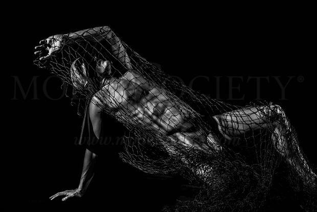 into the trap artistic nude photo by model avid light