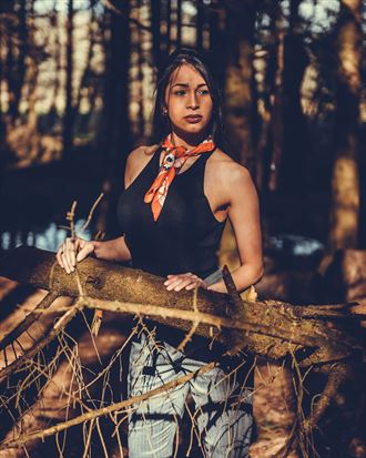 into the woods fashion photo by model ultradiva