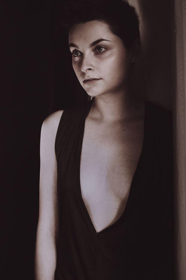 iris fashion artwork by photographer kelly rae daugherty