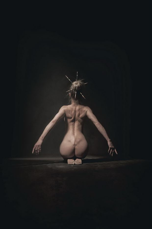 it s in my head artistic nude photo by photographer omega photography