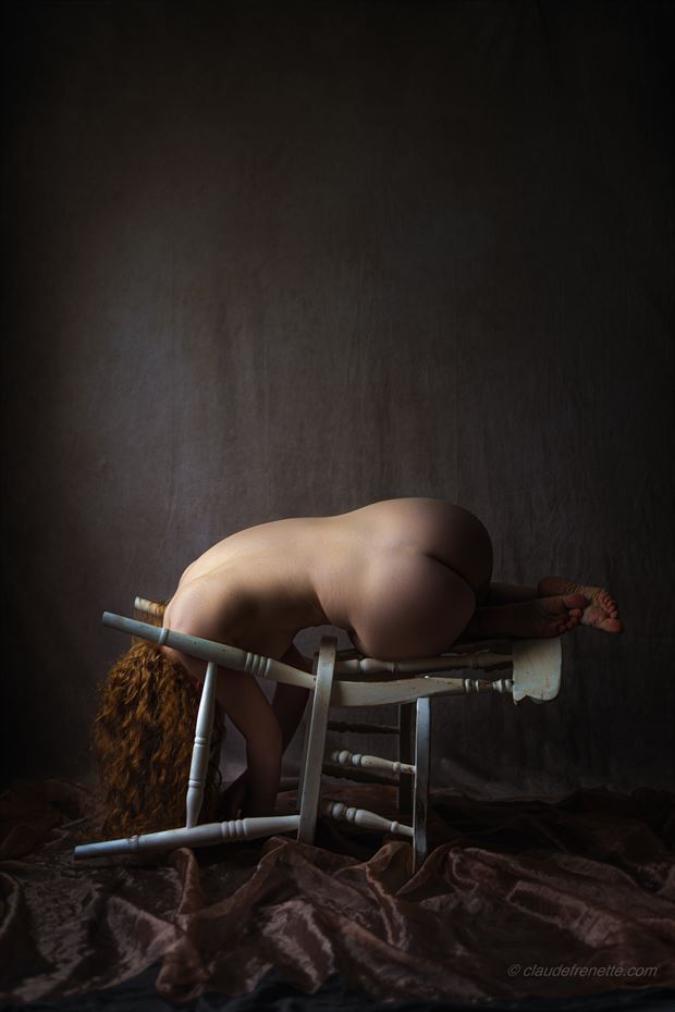 ivory flame 5000 km away artistic nude photo by photographer claude frenette