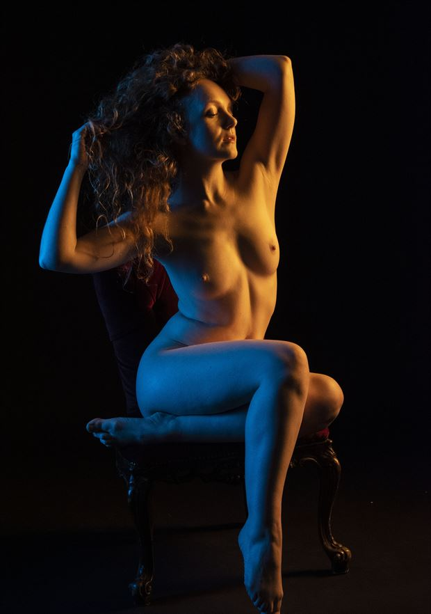 ivory flame artistic nude artwork by photographer clicker 22