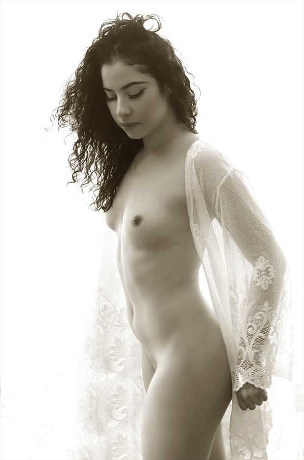 ivy artistic nude photo by photographer rick gordon