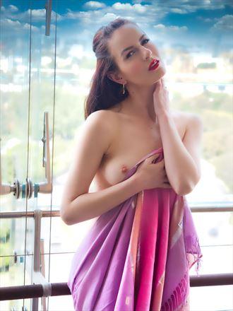 ivy rose raven soft colour portrait artistic nude photo by photographer pgl05