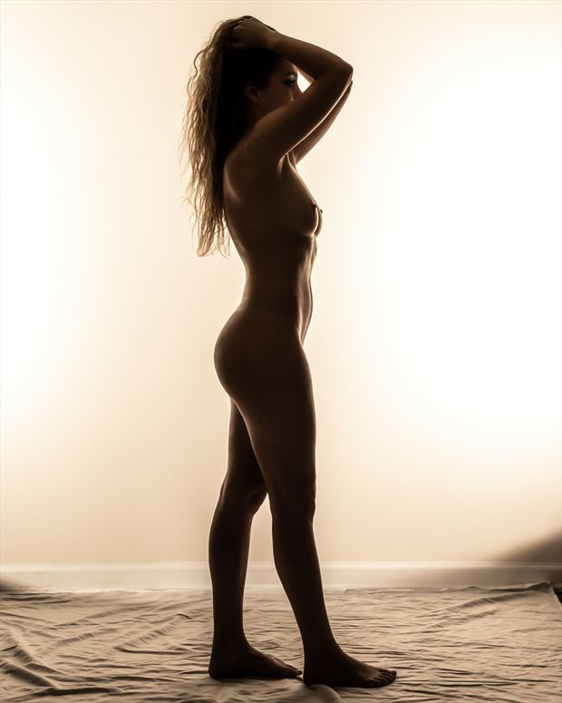 jackie full silhouette artistic nude photo by photographer darkherophotos