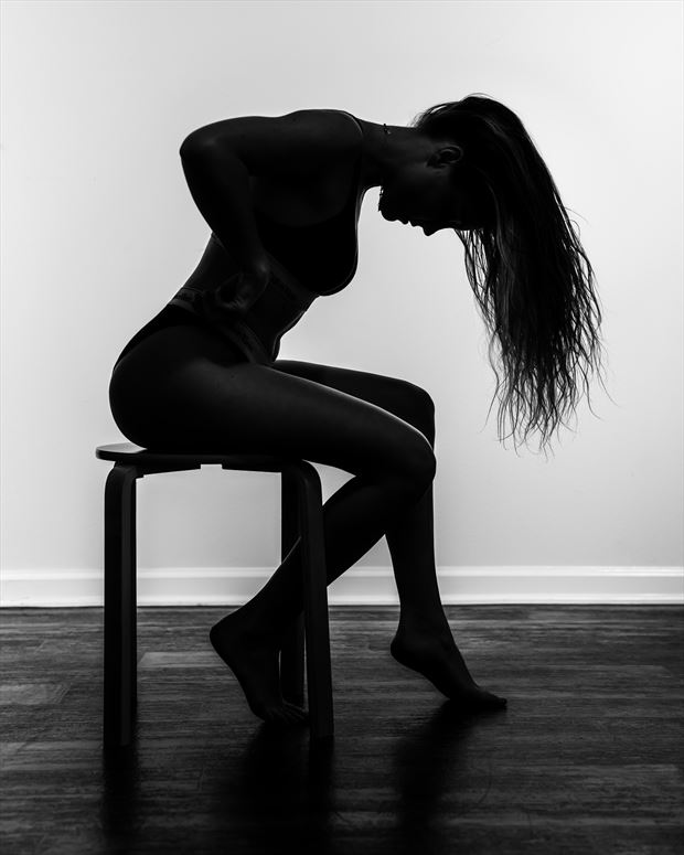 jackie silhouette down lingerie photo by photographer darkherophotos