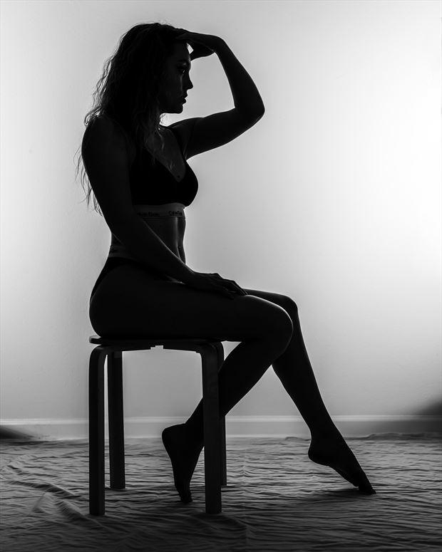 jackie silhouette forward abstract photo by photographer darkherophotos
