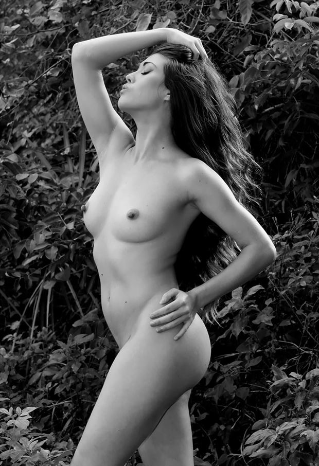 jamie bauern artistic nude photo by photographer rick gordon