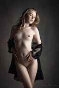 jane bennet in lace artistic nude photo by photographer john mcnairn