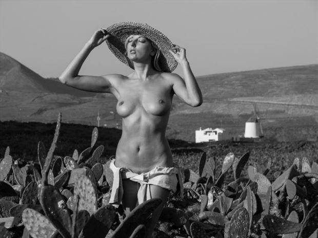 jardin de cactus artistic nude photo by photographer dick