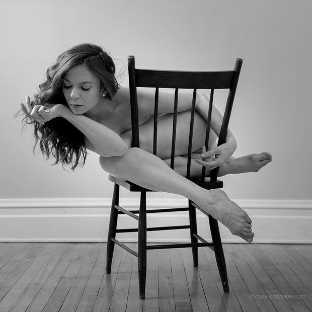 jay ban et la chaise 3 artistic nude photo by photographer claude frenette