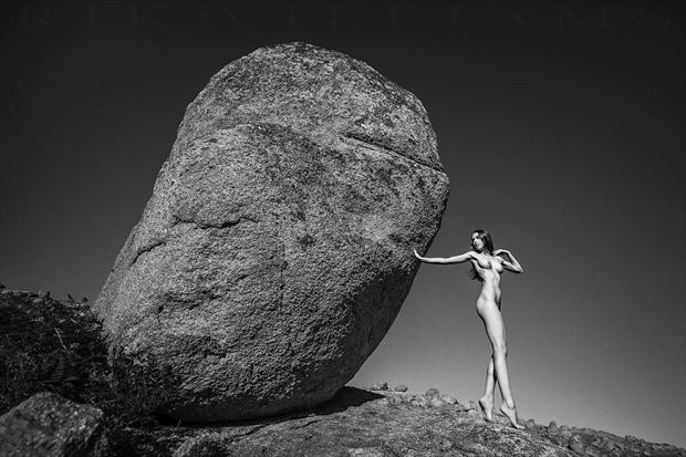 jazz on the rocks artistic nude photo by photographer rik williams