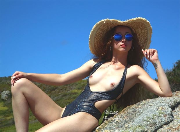 jenna artistic nude photo by photographer alan james