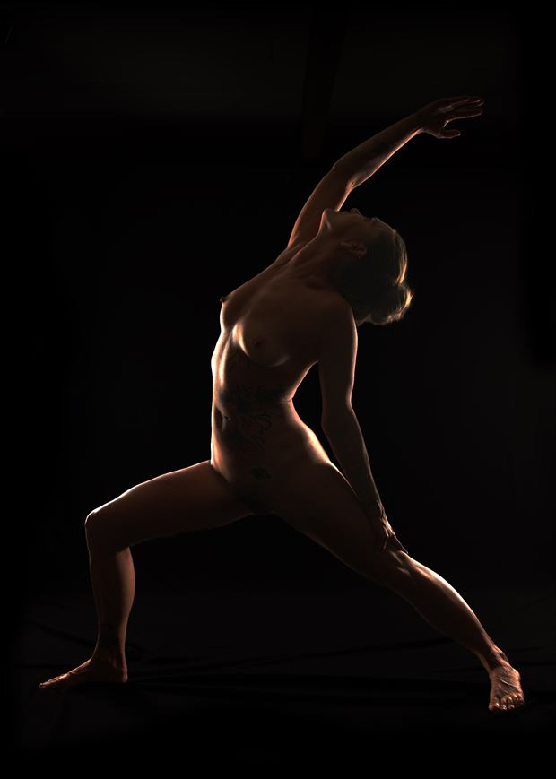 jenna revolved warrior artistic nude photo by photographer fopimages