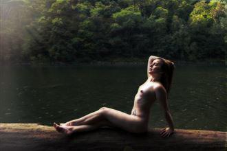 jessie catching some sun artistic nude photo by photographer daniel l friend