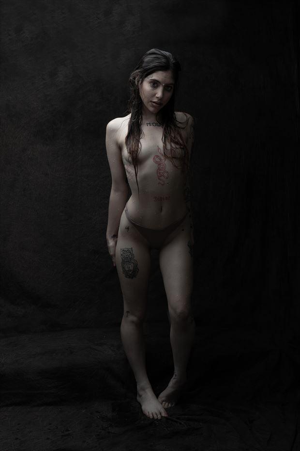 jewlz after a swim artistic nude photo by photographer thatzkatz