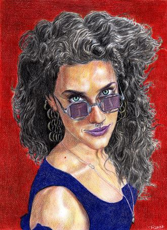 jezabel portrait artwork by artist untuox