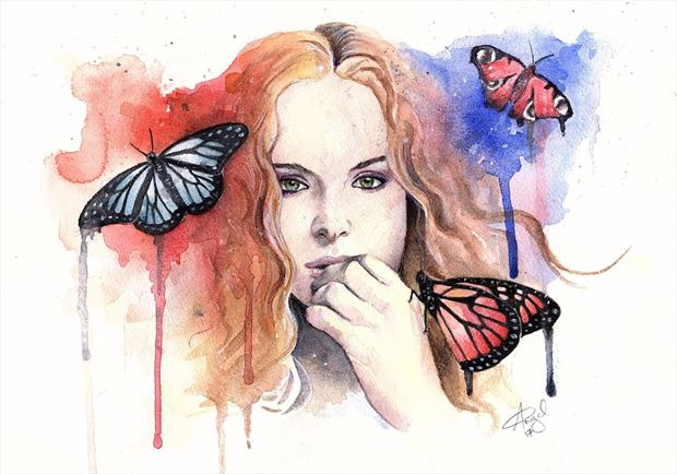jezebelle fantasy artwork by artist angeil illustrations
