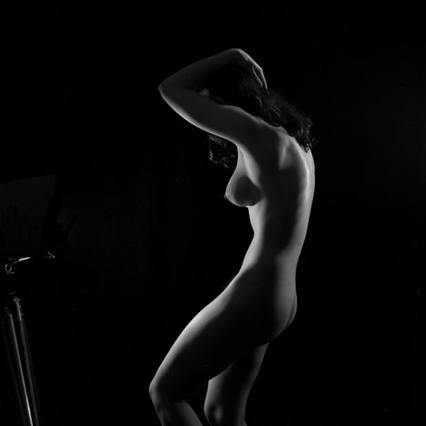 joan first sitting 1956 artistic nude photo by artist jean jacques andre