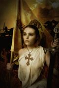 joan of arc expressive portrait photo by photographer mykel