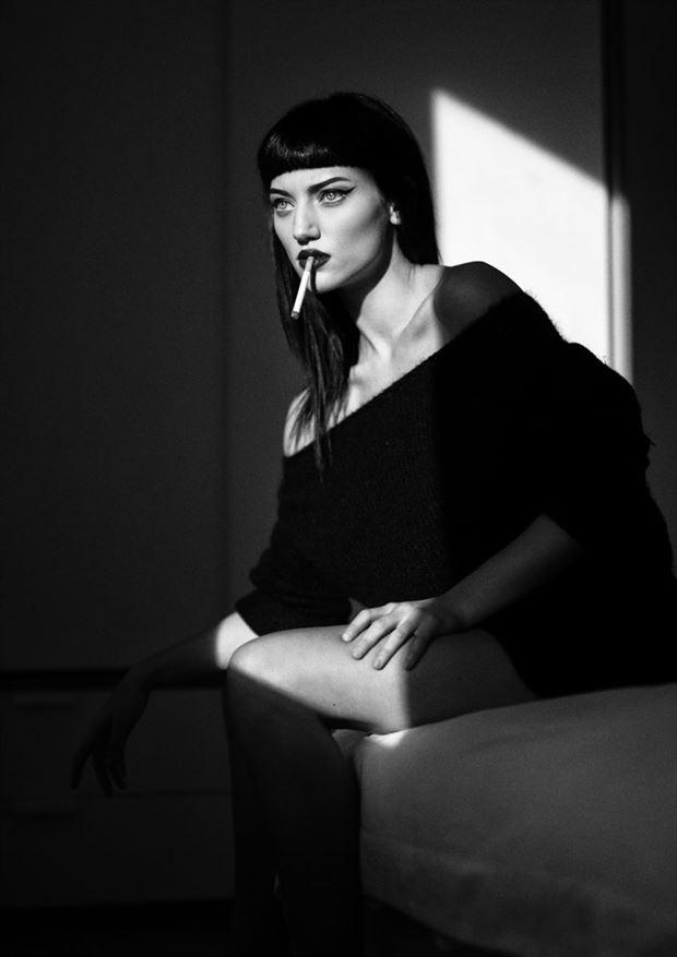 jordan ebbit sensual photo by photographer marc ayres