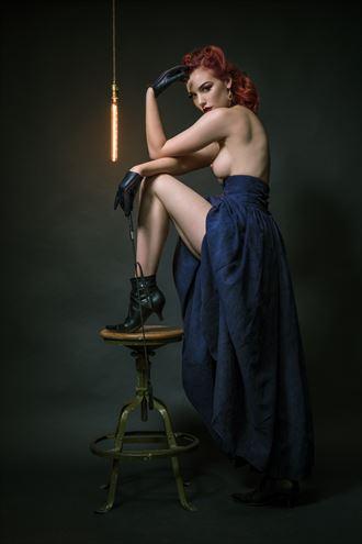 joy of play artistic nude photo by photographer o j