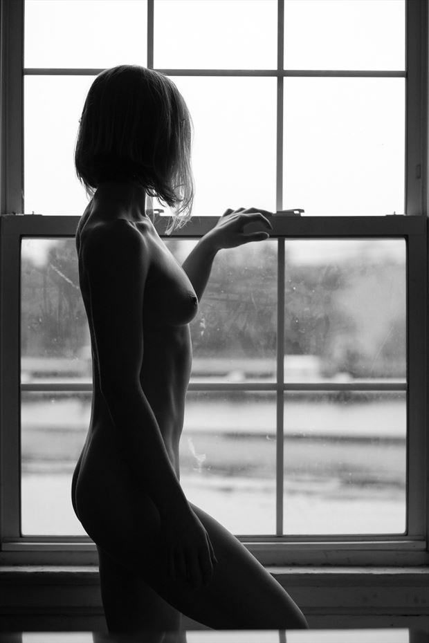 juliet by window artistic nude photo by photographer ajharter