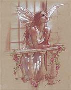 juliet figure study artwork by artist james martin
