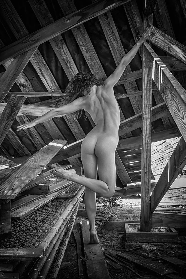jumble artistic nude photo by photographer philip turner