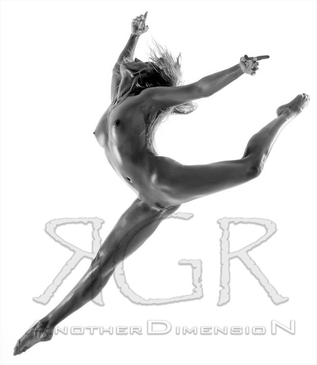 jump Artistic Nude Photo by Model AnoterDimensioN