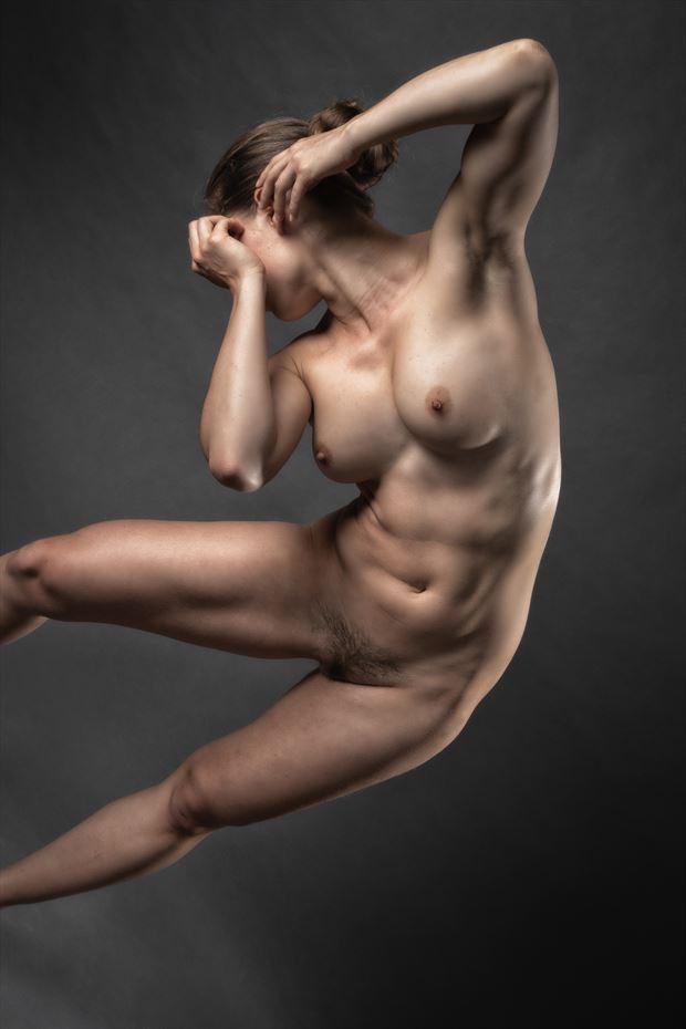 jump artistic nude photo by photographer rick jolson