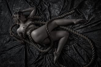juniper and rope artistic nude photo by photographer jsvimages