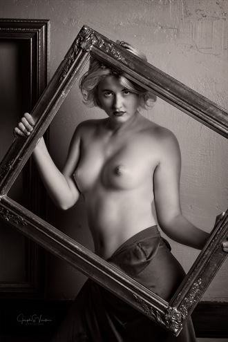 juniper framed artistic nude photo by photographer jsvimages