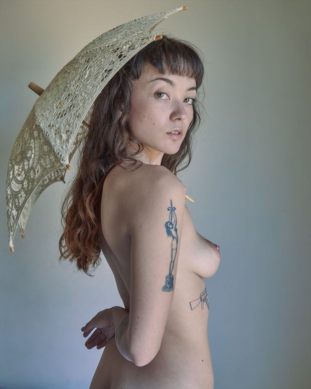 juno and the superfluous umbrella 2019 artistic nude photo by photographer jefflamarche