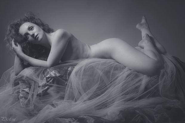 just awake artistic nude photo by photographer proton