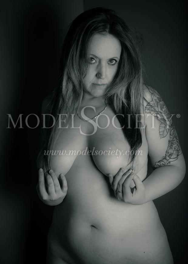 just long enough artistic nude photo by model charlie morgan