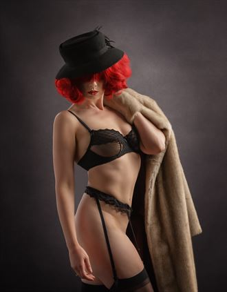jynx going out lingerie photo by photographer mikeal brecks