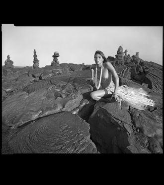 kalapana broken lava artistic nude photo by photographer arbeit photo hawaii